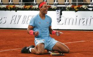 Rafael Nadal a remporté son 13e titre à Roland-Garros, le 11 octobre 2020, à Paris.