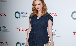 L'actrice Christina Hendricks à la soirée Innovators For A Healthy Planet à Los Angeles