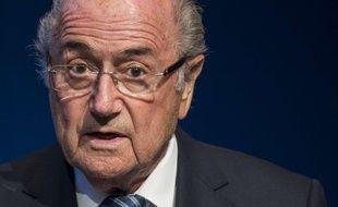 Sepp Blatter, le 2 juin 2015.