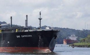 Le canal de Panama, le 17 juin 2020.