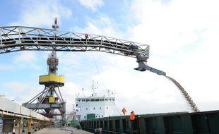 Le port de Nantes Saint-Nazaire espère, notamment, développer le trafic céréalier