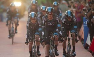 Chris Froome n'a pas récupéré du Tour de France