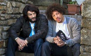 """Ramzy Bédia et Joey Starr dans """"Les Seigneurs"""""""