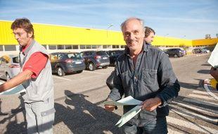 Les salariés sont inquiets pour l'avenir du site de Ford à Blanquefort. - Photo : Sebastien Ortola