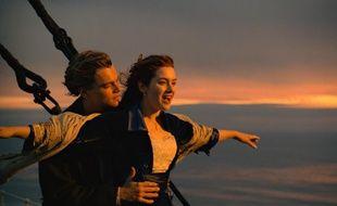 Leonardo DiCaprio et Kate Winslet dans «Titanic».