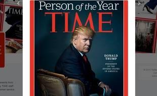 Donald Trump a été désigné «personnalité de l'année» par le magazine «Time»