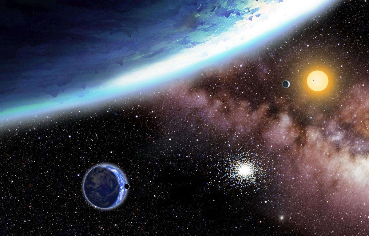 Photo d'illustration de  l'espace au centre d'astrophysique d'Harvard – AP/SIPA
