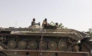 Des militaires tchadiens à N'Djamena (image d'illustration).