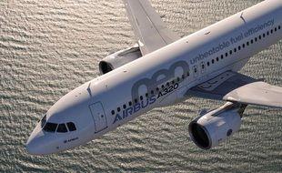 Airbus a notamment vendu en février 10 exemplaires de son A320neo..