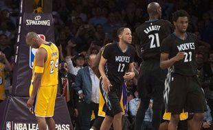 La fin de carrière de Kobe Bryant est bien pénible.