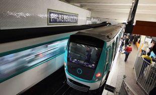 Illustration d'un métro