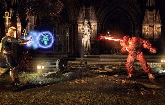 Un jeu de combat entre super héros réalisé par les créateurs de Mortal Kombat.
