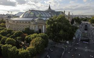 Vue du Grand Palais à Paris.