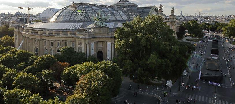 Vue du Grand Palais à Paris.