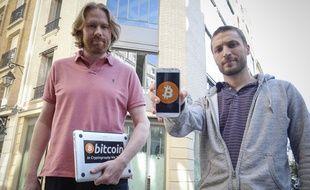 Eric Larchevêque et Thomas France, les deux fondateurs d'Epic Dream qui se consacre au bitcoin.
