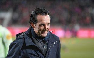 Unai Emery lors de Dijon-PSG.