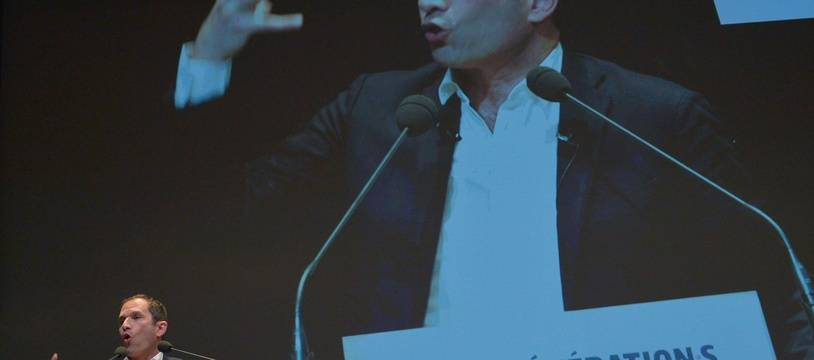 Benoît Hamon le samedi 2 décembre 2017.