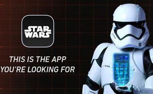 L'application officielle «Star Wars» sera bientôt disponible en France.