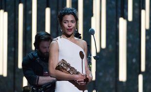 L'actrice Zita Hanrot a remporté le César du meilleur espoir féminin pour le film «Fatima», le 26 février 2016.