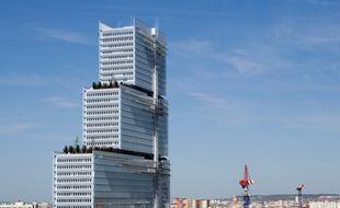 Image d'illustration du bâtiment abritant le tribunal de Paris.