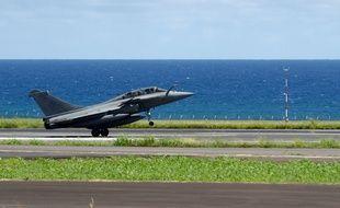 Un Rafale décolle à La Réunion (image d'illustration).