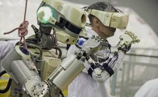 L'agence spatiale russe tente d'envoyer son robot humanoïde, Fedor, à bord de la station spatiale internationale.