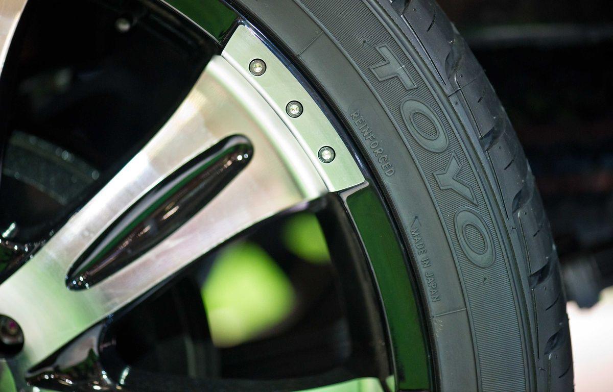 Illustration d'un pneu – LANCELOT FREDERIC/SIPA