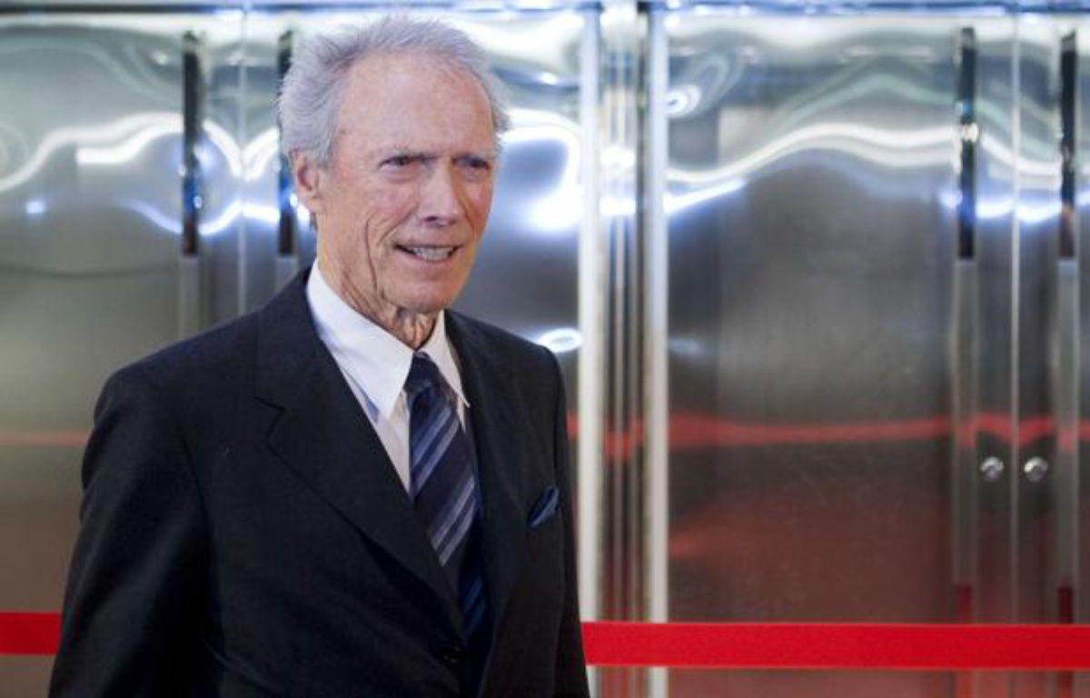 Clint Eastwood, le 1er février 2012 lors d'une cérémonie organisée par Warner Bros. – Kristoffer Tripplaar/ Sipa