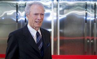 Clint Eastwood, le 1er février 2012 lors d'une cérémonie organisée par Warner Bros.