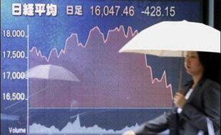 D'autres marchés d'Asie-Pacifique profitaient cependant de rebonds techniques, les investisseurs exploitant les lourdes chutes des derniers jours pour acheter des actions devenues très bon marché.