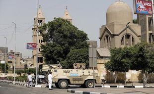 Image d'illustration d'une église orthodoxe au Caire, en Egypte.
