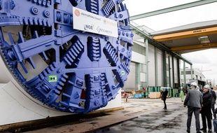 Le premier tunnelier du Grand Paris Express a été inauguré le 3 février à Champigny-sur-Marne (Val-de-Marne).