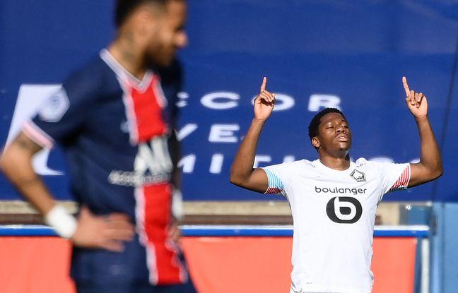 Jonathan David a marqué le but de la victoire lilloise à Paris