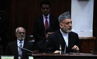 Le président afghan Hamid Karzaï a présenté jeudi devant le Parlement une image désenchantée de son pays après plus de dix ans de présence occidentale, s'alarmant notamment de la hausse du nombre d'attaques contre ses forces de sécurité, censées protéger seules le pays après 2014.