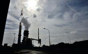 Photographie d'archives prise le 22 avril 2013 du site d'ArcelorMittal à Grande-Synthe (Nord), près de Dunkerque