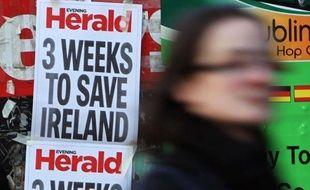 Les ministres des Finances de la zone euro vont tenir dimanche soir une conférence téléphonique au sujet d'une aide financière à l'Irlande, que Dublin s'est résolue à demander, ont annoncé des sources diplomatiques à l'AFP.