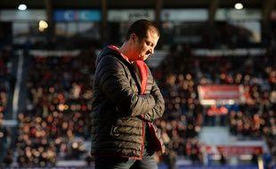 Mourad Boudjellal, le président du RC Toulon, le 11 décembre 2016.