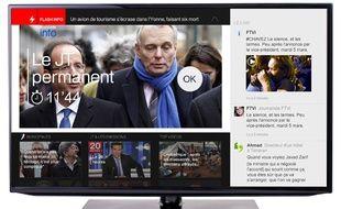 La chaîne d'information à la demande de France TV Info.