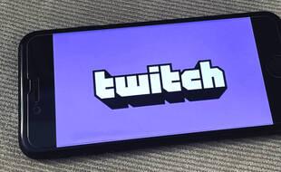 Illustration du réseau social Twitch.