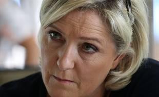 La présidente du Rassemblement national, Marine Le Pen.