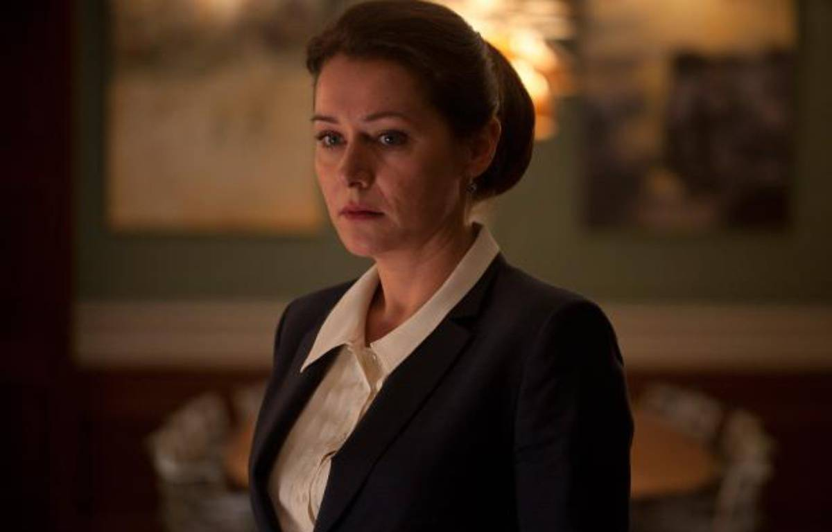 "L'actrice danoise Sidse Babett Knudsen dans la série ""Borgen"". – Mike Kollöffel"