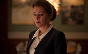 """L'actrice danoise Sidse Babett Knudsen dans la série """"Borgen""""."""