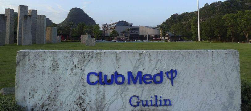 Un site Club Med à Guilin, dans le sud-ouest de la Chine, le 12 août 2016.