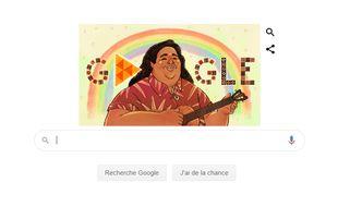 Google rend hommage à l'artiste originaire d'Hawaï.
