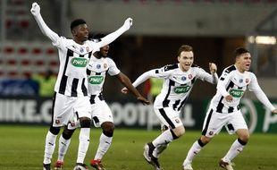 Dembélé, Boga, Janvier et Quintero (de g. à d.), ou la jeunesse triomphante du Stade Rennais.
