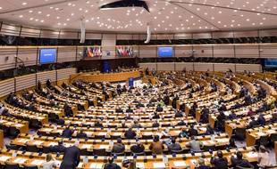 Le Parlement européen a discuté des mesures anti-terroristes mercredi 28 janvier 2015. d