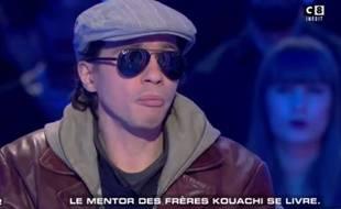 Farid Benyettou dans «Salut les Terriens!» le 7 janvier 2017.