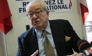 Jean-Marie Le Pen à Marseille, le 8 février 2009.