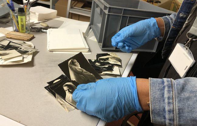 Avec ces photos, les historiennes archivistes chargées du chantier plongent dans l'intimité de familles bretonnes.