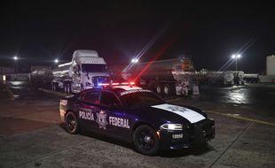 La police mexicaine a lancé une vaste opération contre les vols de carburant (illustration).